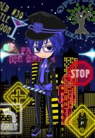 Kaito Renai Philosophia by blueyellowgreen