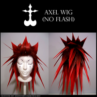 Axel Wig - No Flash by NailoSyanodel