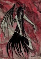 Reign in Blood. Angel of Death by Red-Szajn