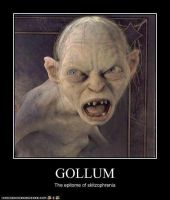Gollum demotivational by guy011