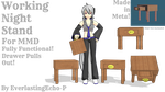 MMD - Working Night Stand by EverlastingEcho-P