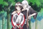 Would you get off my shoulder (with background) by deidara1444