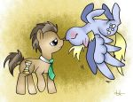 Doctor x Derpy ! by Winter-Shadow7