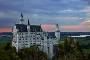 Neuschwanstein by Dave-Derbis