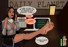 Lois Lane Redux by Bigfootfantasies