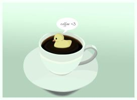 coffee duck by marii85