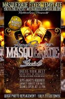 PSD Masquerade Flyer Template by retinathemes
