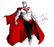 Superman by TheoDJ