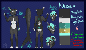 Loch Ness {Nessie} Full Reference Sheet. by VestraSaur