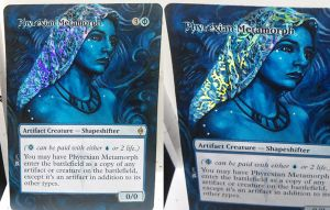 Magic Alteration: Phyrexian Metamorph 11/26/14 by Ondal-the-Fool
