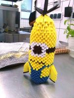 Minion Origami 3D by OldCook