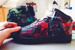 Custom Star Wars Sneakers by Bobsmade