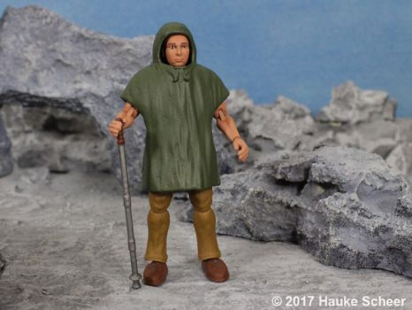 Portraid figure 3D printed with durable resin E by hauke3000