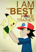 I am the best pokemon trainer by TheSaigou