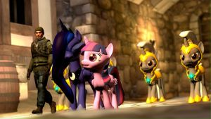 Hanging 'Round the Castle by Legoguy9875