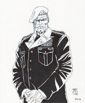 Col.Tim'Ace'Watson Ink by TyndallsQuest