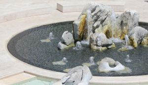 Fountain at Getty Museum by meeks105