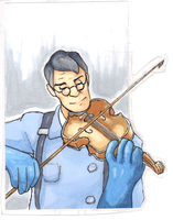Medic Bookmark by flailingwings