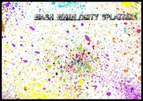 Splatter Brushes by WashWhenDirty