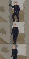 Hetalia - The Fall of the Berlin Wall by Talawolf2014