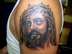 jesus tattoo by MOET14
