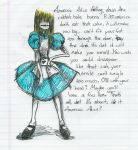 Anorexic Alice by BlueMarkerFumes