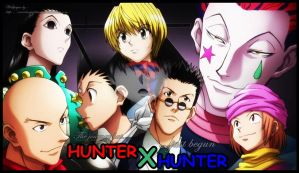 HUNTER X HUNTER by xcredensjustitiamx