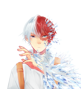 Todoroki Shouto [+Speedpaint!] by TannaCat