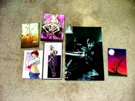 Most Recent Print Purchases :D by oibyrd