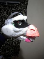 Dragon Mask v2.0 WIP 1 by Wolfbird