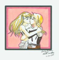 EdxWinry: Kiss by Ryoko-and-Yami
