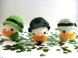 Leprechaun Moon Buns - Group 1 by MoonYen
