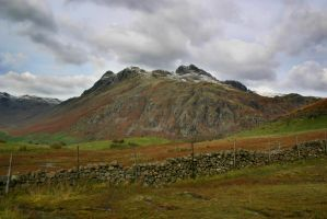 Langdale pikes stock by A68Stock