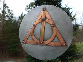 The  Deathly Hallows by creativeetching