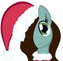 Santa hat Keeley by XVanilla-TwilightX