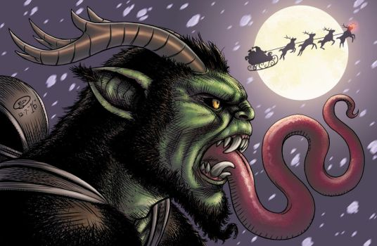 Krampus 2016 by Abramelin