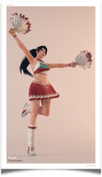 `Momiji : Cheerleader ` by VeiradA