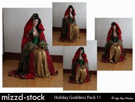 Holiday Goddess Pack 11 by mizzd-stock