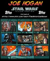Star Wars Illustrated Returns by JoeHoganArt