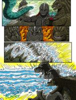 Godzilla: Kings and Brothers, Page #21 by kaijukid