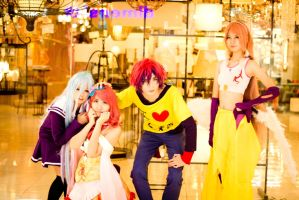No Game No Life Gang by iamjenhime