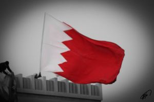Bahrain Flag by Khalid-AlThawadi