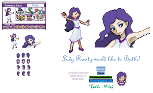 Trainer Rarity by 0RCV0