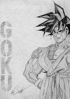 Son Goku Sketch by matrix7