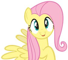 Kawaii Desu Ne Fluttershy by NabbieKitty