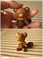 Tenorikuma Sculpture by eserenitia