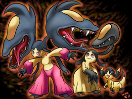 Mawile Evolution by WaniRamirez