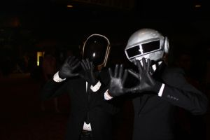 ColossalCon 2014 - Daft Punk 2 by VideoGameStupid