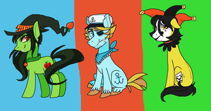 Pony adoptables! - Earth ponies [CLOSED] NEWPRICES by vomitcunt