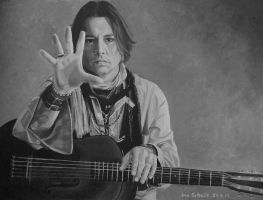 Johnny Depp - My Valentine - 3 by shaman-art